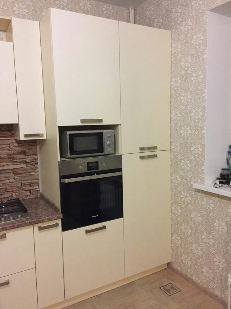 Белый кухонный гарнитур-Кухня МДФ в ПВХ «Модель 165»-фото6