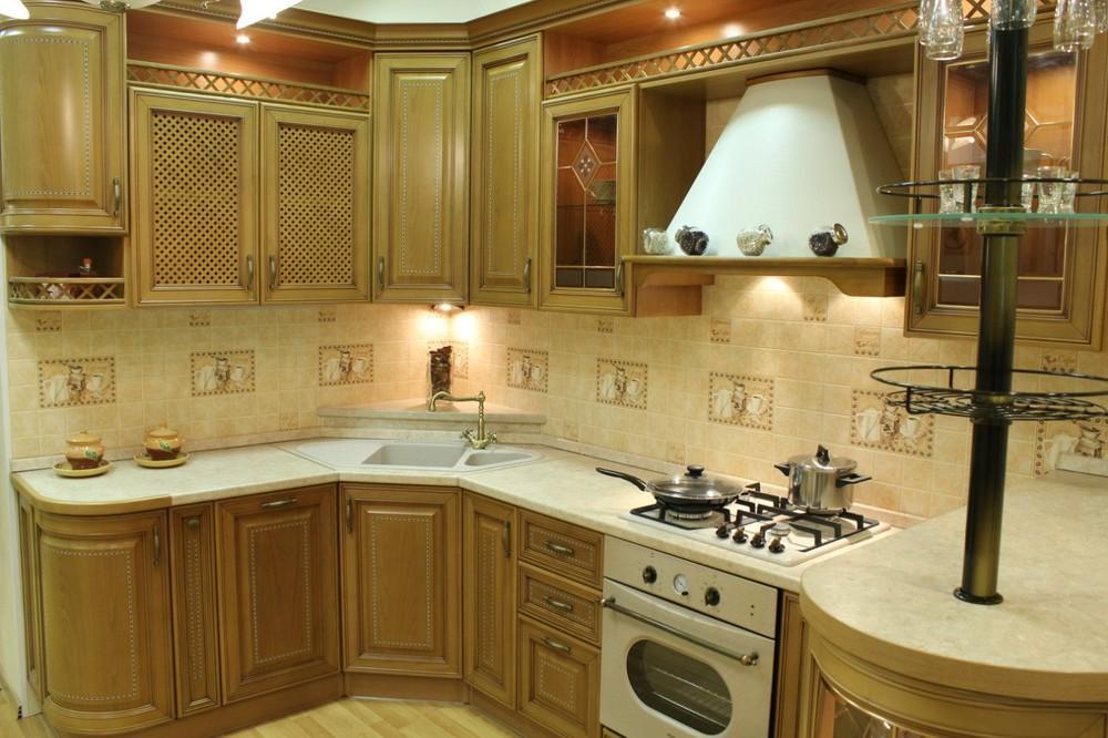 Классические кухни-Кухня из массива «Модель 127»-фото6