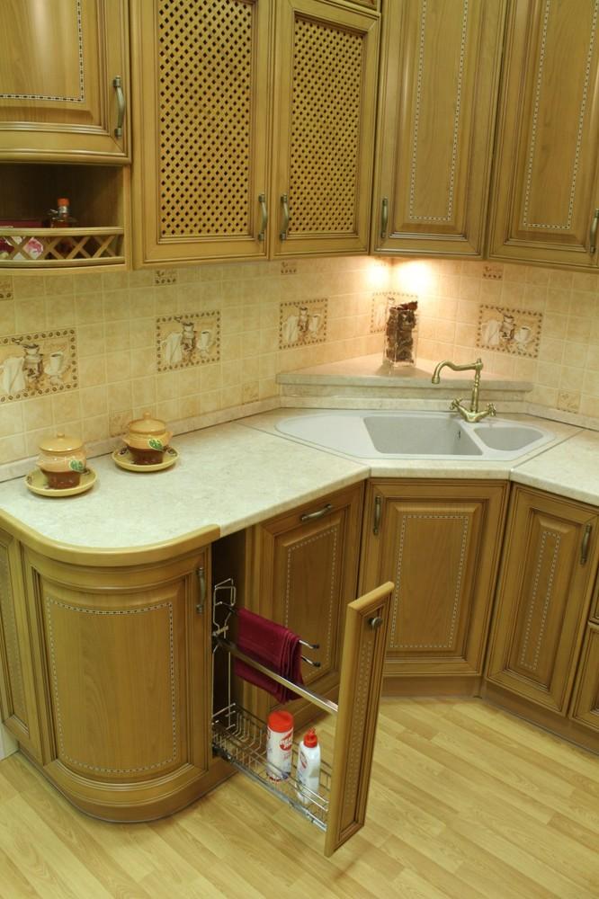 Классические кухни-Кухня из массива «Модель 127»-фото8
