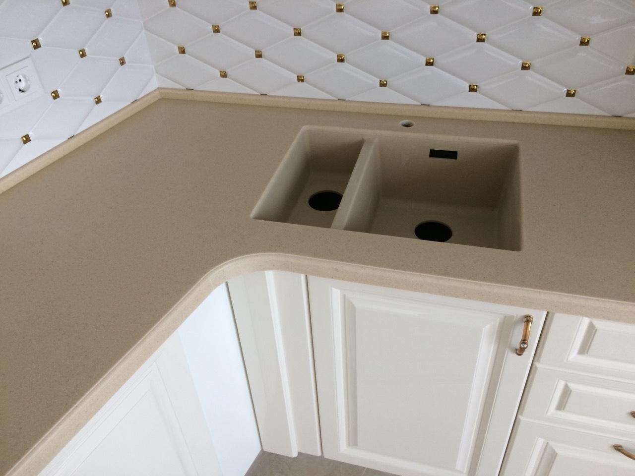 Белый кухонный гарнитур-Кухня МДФ в ПВХ «Модель 11»-фото5