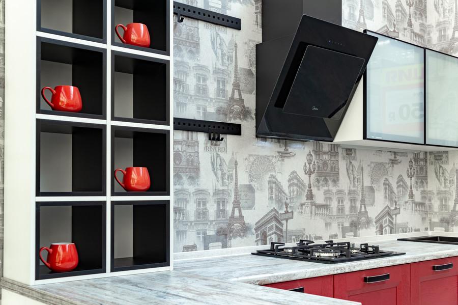 Классические кухни-Кухня МДФ в ПВХ «Модель 51»-фото7