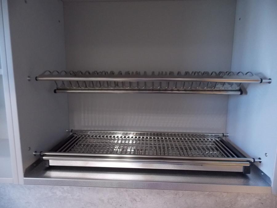 Встроенная кухня-Кухня МДФ в эмали «Модель 15»-фото8
