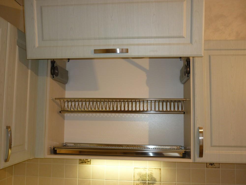 Белый кухонный гарнитур-Кухня МДФ в ПВХ «Модель 290»-фото5