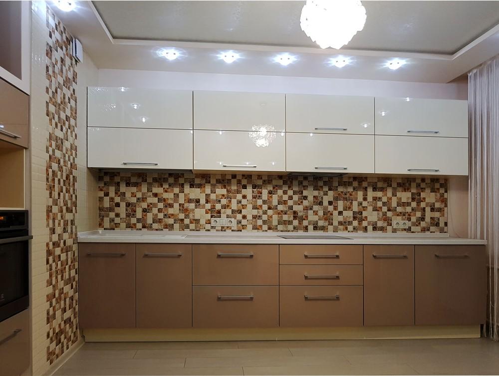 Акриловые кухни-Кухня из акрила «Модель 298»-фото1