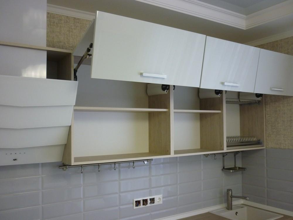 Акриловые кухни-Кухня из пластика «Модель 319»-фото4