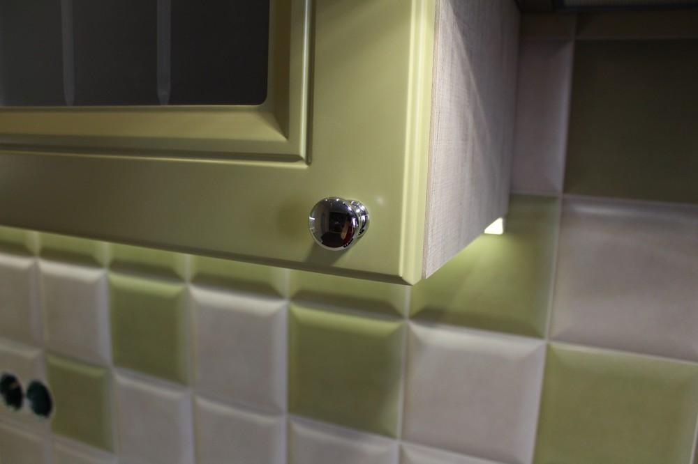 Классические кухни-Кухня МДФ в ПВХ «Модель 91»-фото8