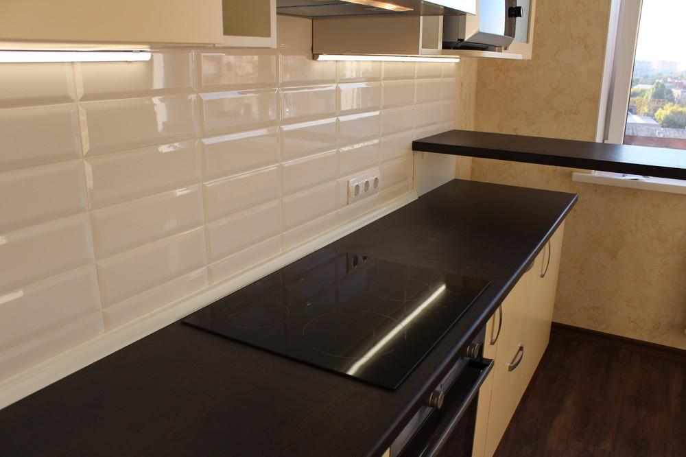 Акриловые кухни-Кухня МДФ в ПВХ «Модель 305»-фото7