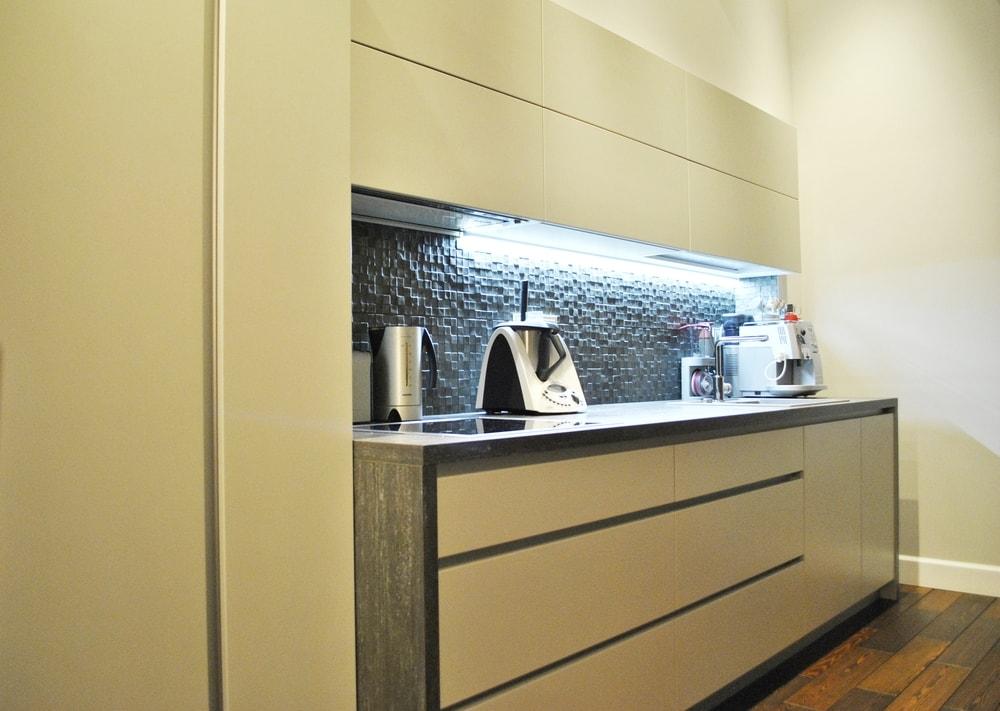 Акриловые кухни-Кухня из пластика «Модель 75»-фото1