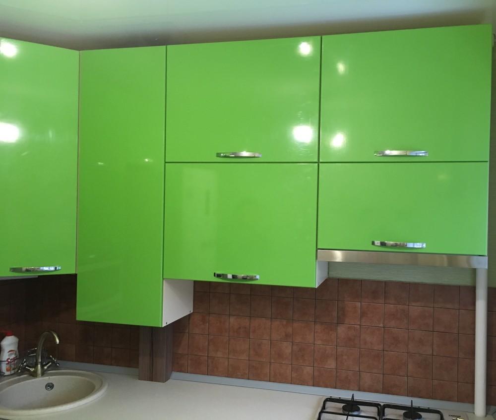 Встроенная кухня-Кухня МДФ в ПВХ «Модель 310»-фото1