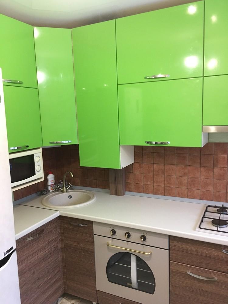 Встроенная кухня-Кухня МДФ в ПВХ «Модель 310»-фото3