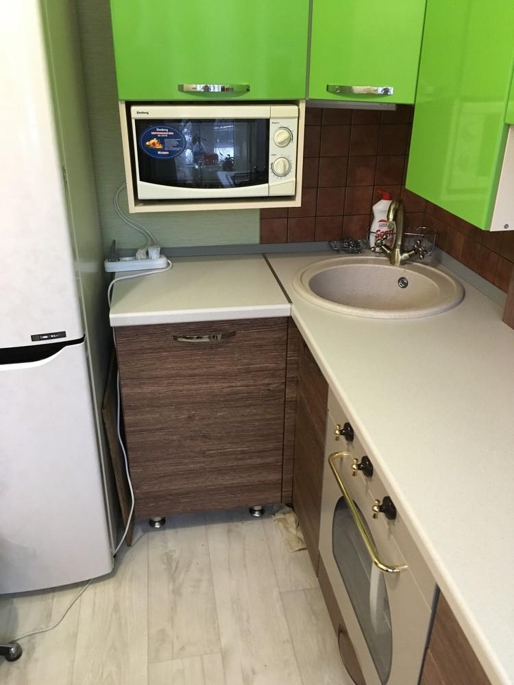 Встроенная кухня-Кухня МДФ в ПВХ «Модель 310»-фото5