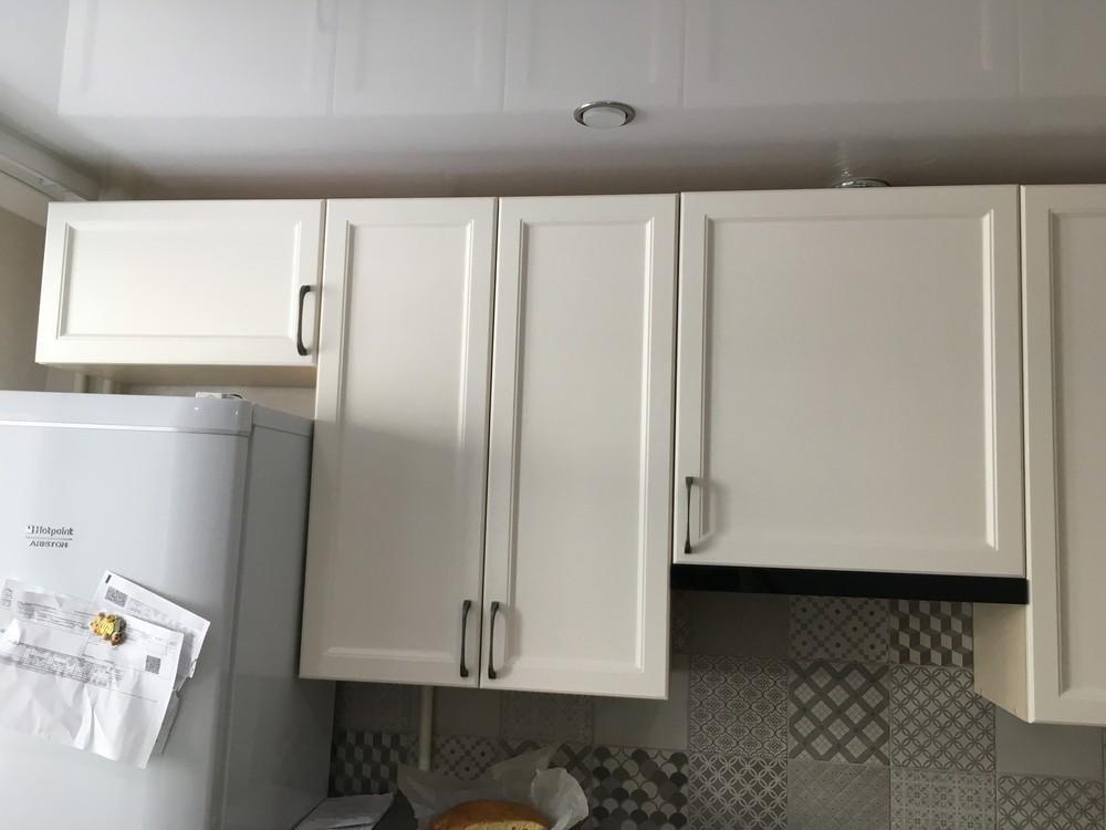 Белый кухонный гарнитур-Кухня МДФ в эмали «Модель 321»-фото5