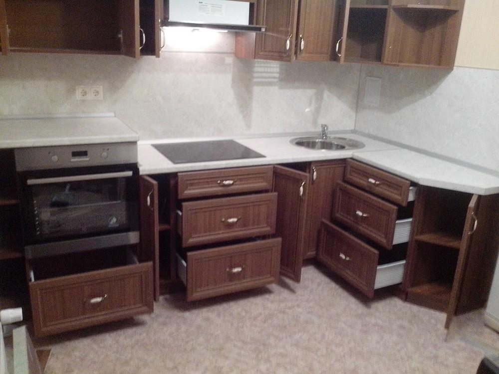 Классические кухни-Кухня из пластика «Модель 331»-фото2