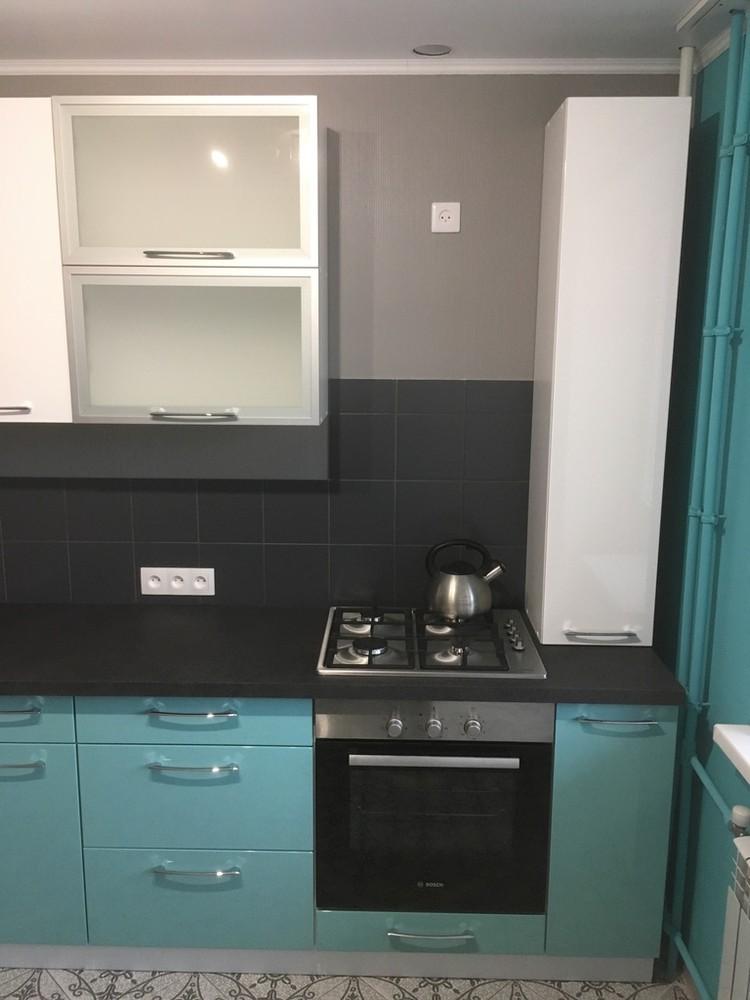 Белый кухонный гарнитур-Кухня МДФ в ПВХ «Модель 320»-фото5