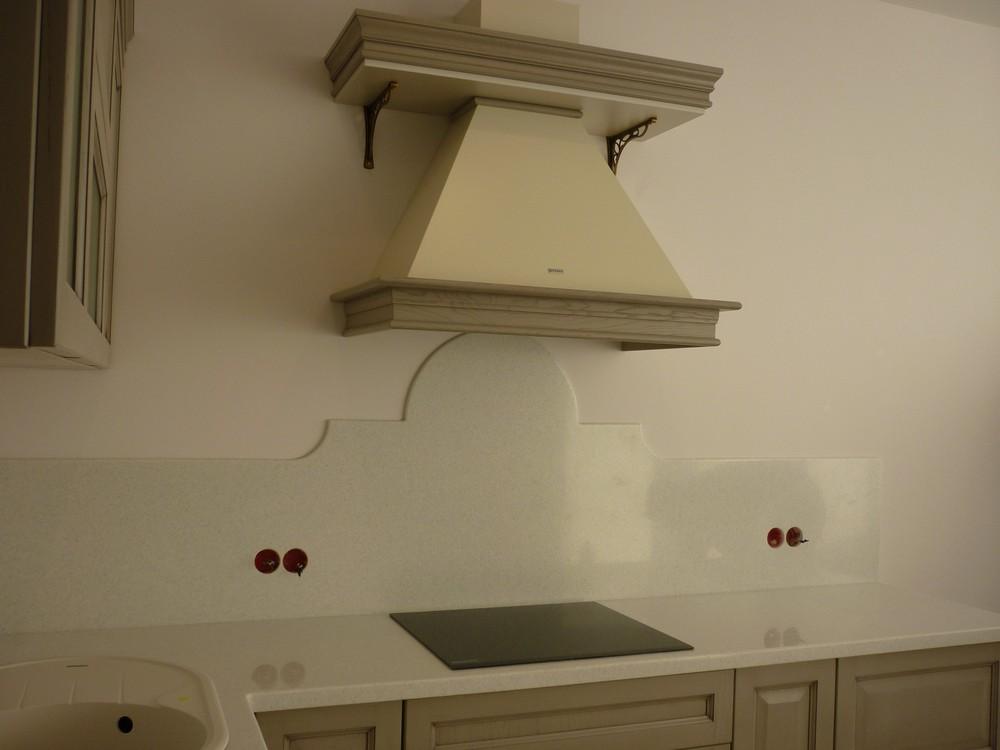 Белый кухонный гарнитур-Кухня МДФ в ПВХ «Модель 255»-фото4