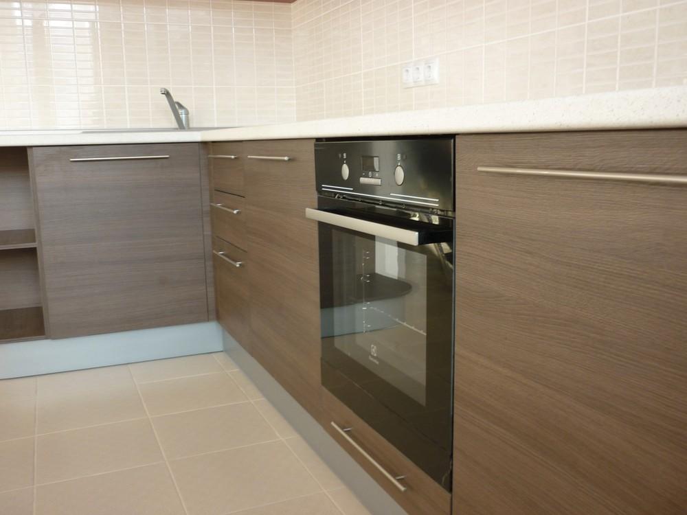 Встроенная кухня-Кухня МДФ в ПВХ «Модель 239»-фото2