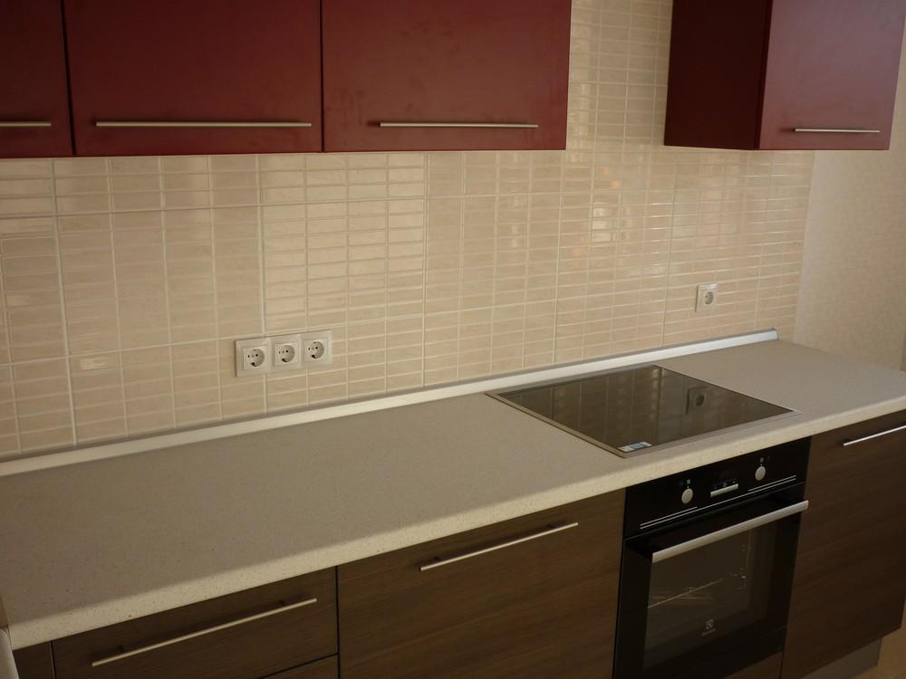 Встроенная кухня-Кухня МДФ в ПВХ «Модель 239»-фото4