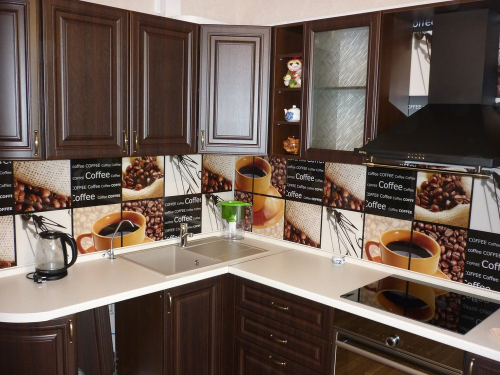 Встроенная кухня-Кухня МДФ в ПВХ «Модель 227»-фото7