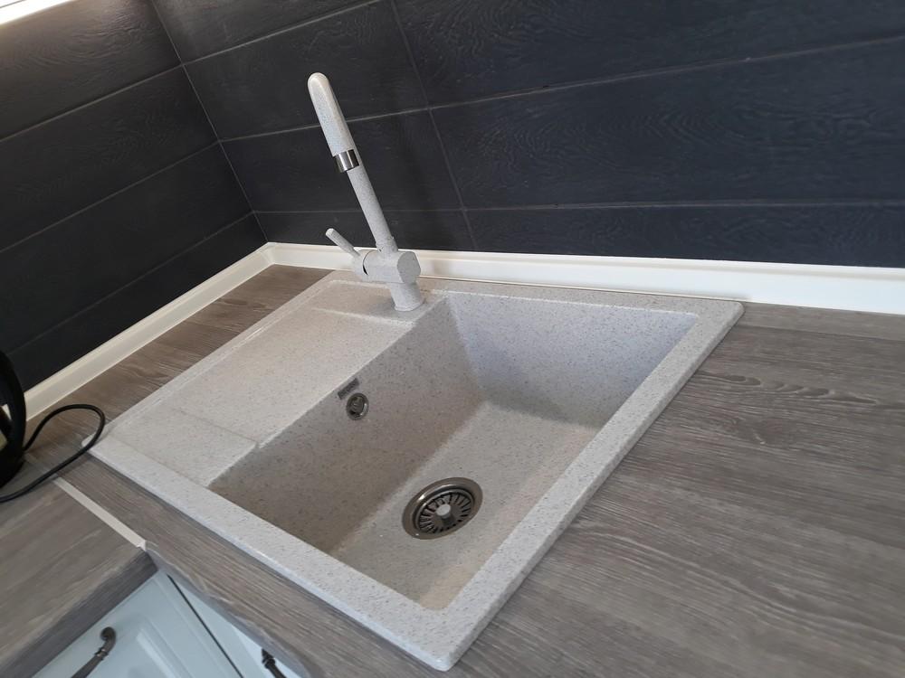 Встроенная кухня-Кухня МДФ в ПВХ «Модель 278»-фото3