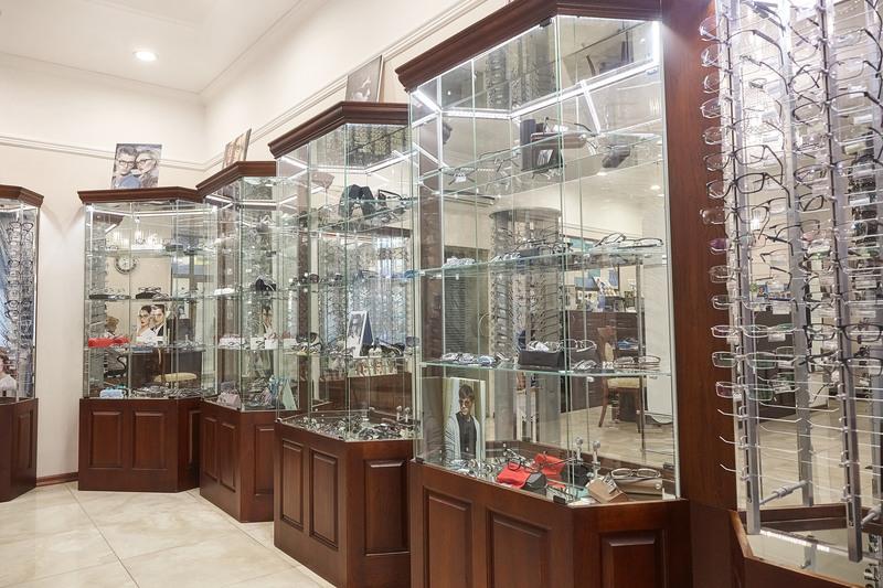 Торговая мебель-Мебель для оптики «Модель 206»-фото2