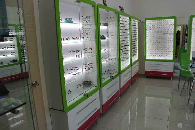 Торговая мебель-Мебель для оптики «Модель 204»-фото4