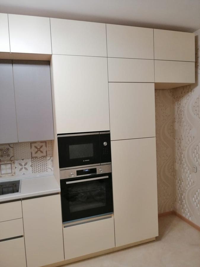 Белый кухонный гарнитур-Кухня из пластика «Модель 339»-фото5