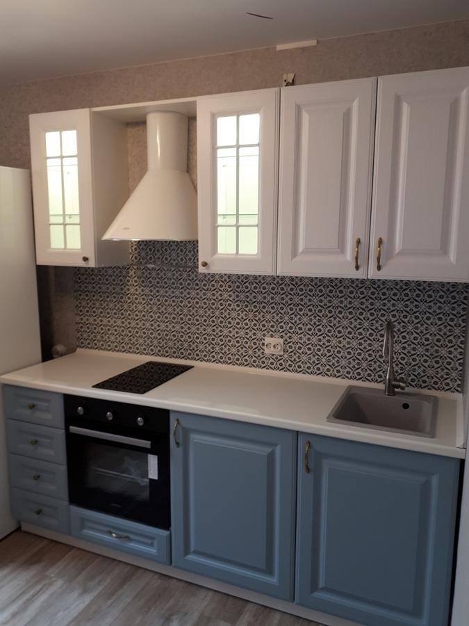 Белый кухонный гарнитур-Кухня «Модель 499»-фото3