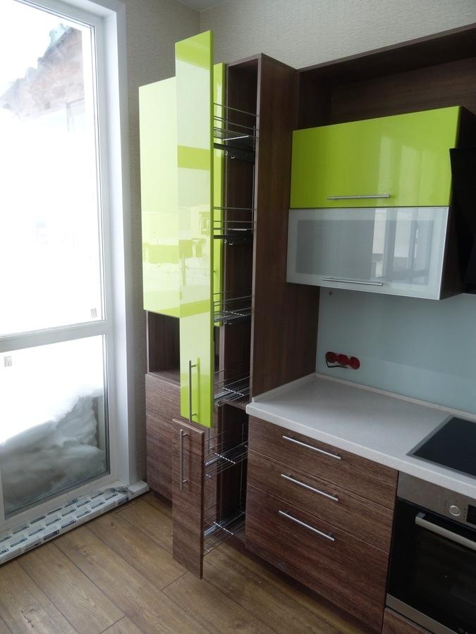 Встроенная кухня-Кухня МДФ в ПВХ «Модель 512»-фото7