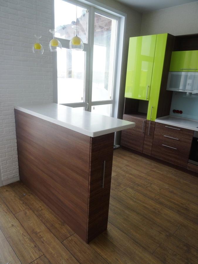 Встроенная кухня-Кухня МДФ в ПВХ «Модель 512»-фото2
