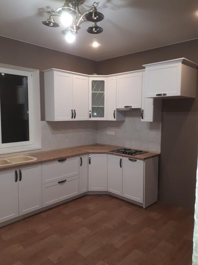 Белый кухонный гарнитур-Кухня «Модель 493»-фото4