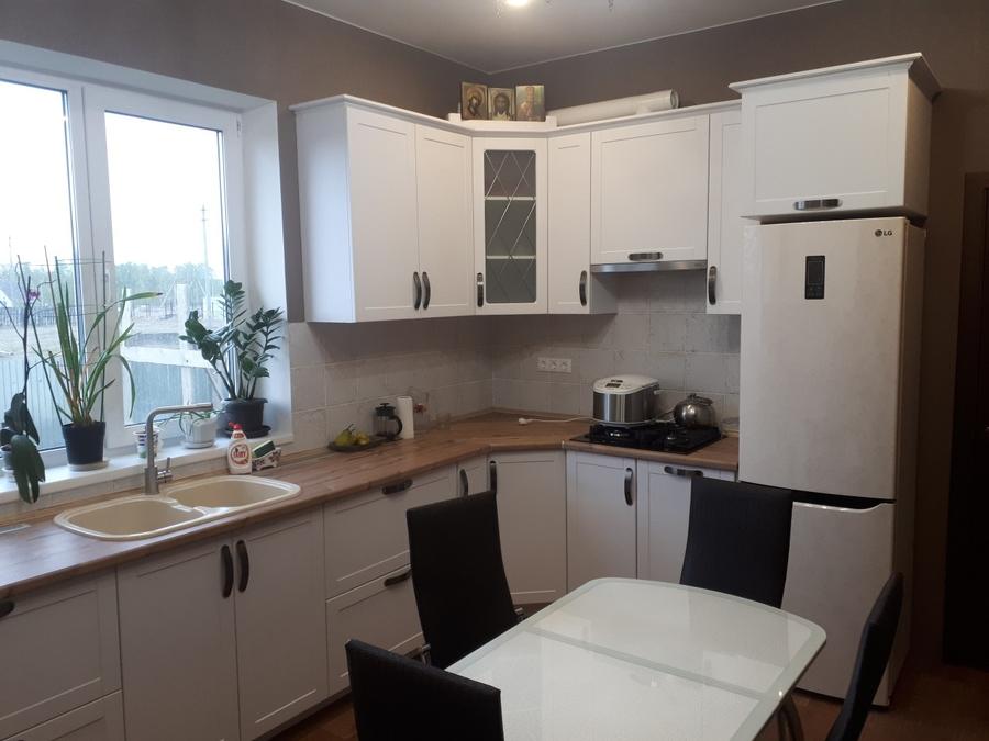 Белый кухонный гарнитур-Кухня «Модель 497»-фото2