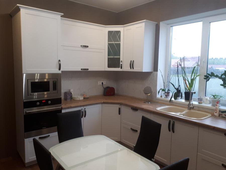 Белый кухонный гарнитур-Кухня «Модель 497»-фото3
