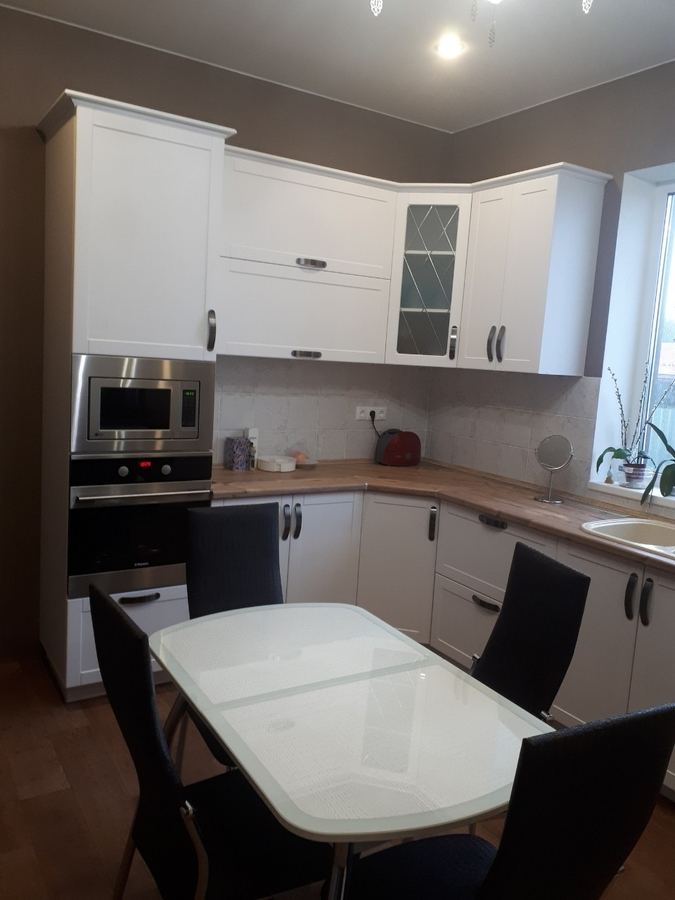 Белый кухонный гарнитур-Кухня «Модель 497»-фото1
