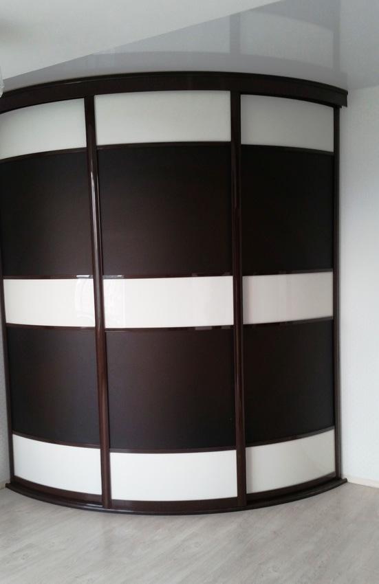 Бельевой шкаф-купе-Шкаф-купе из пластика «Модель 449»-фото1