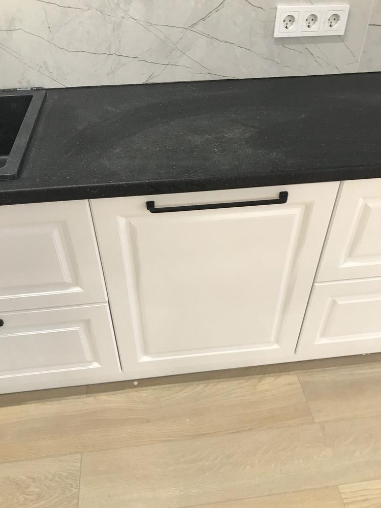 Белый кухонный гарнитур-Кухня МДФ в ПВХ «Модель 553»-фото5