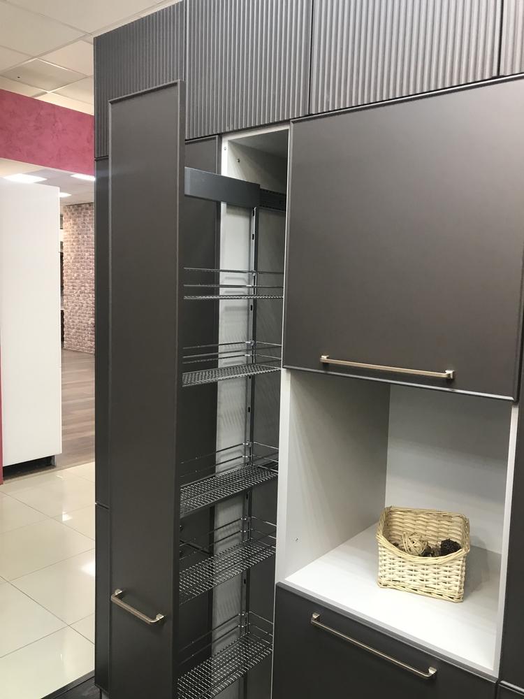 Купить кухню-Кухня МДФ в пластике «Модель 551»-фото11
