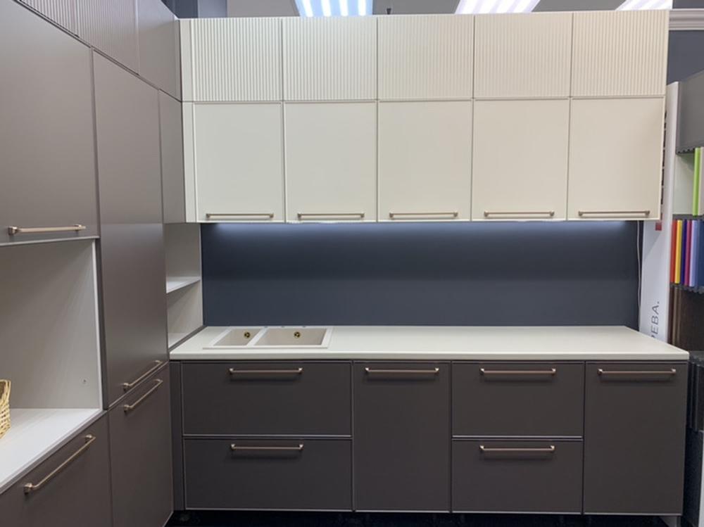 Купить кухню-Кухня МДФ в пластике «Модель 551»-фото5