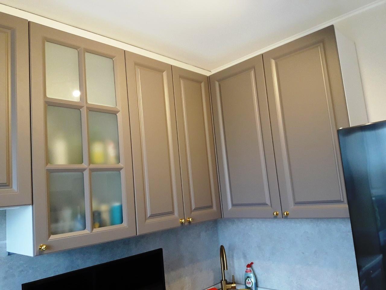 Встроенная кухня-Кухня МДФ в эмали «Модель 541»-фото6