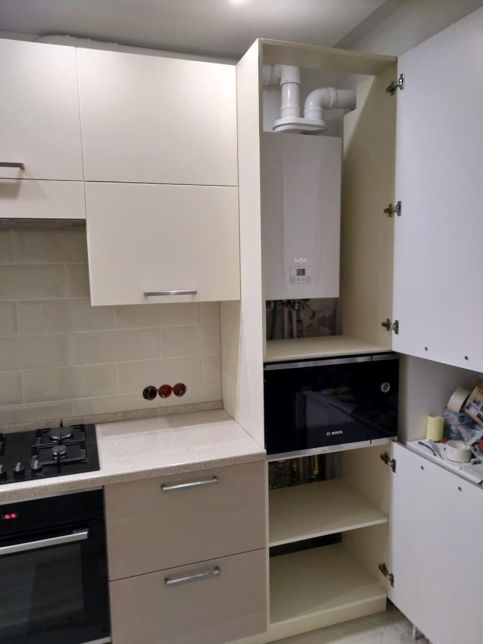 Акриловые кухни-Кухня из пластика «Модель 536»-фото6