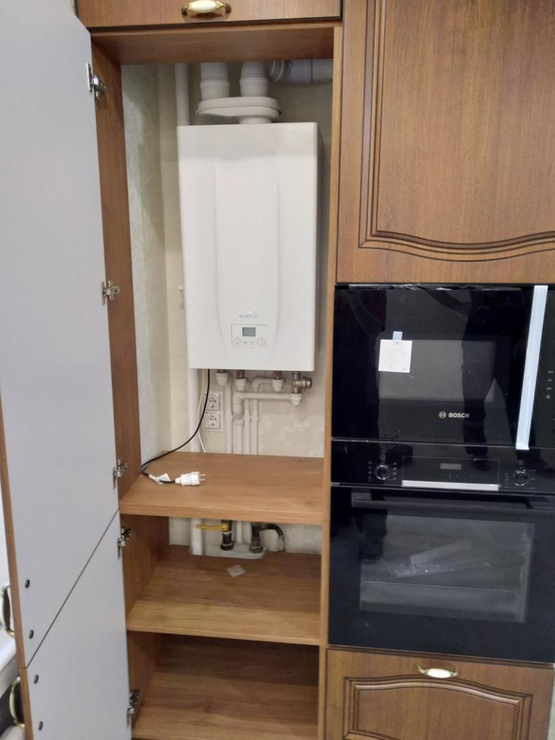 Классические кухни-Кухня МДФ в ПВХ «Модель 527»-фото6