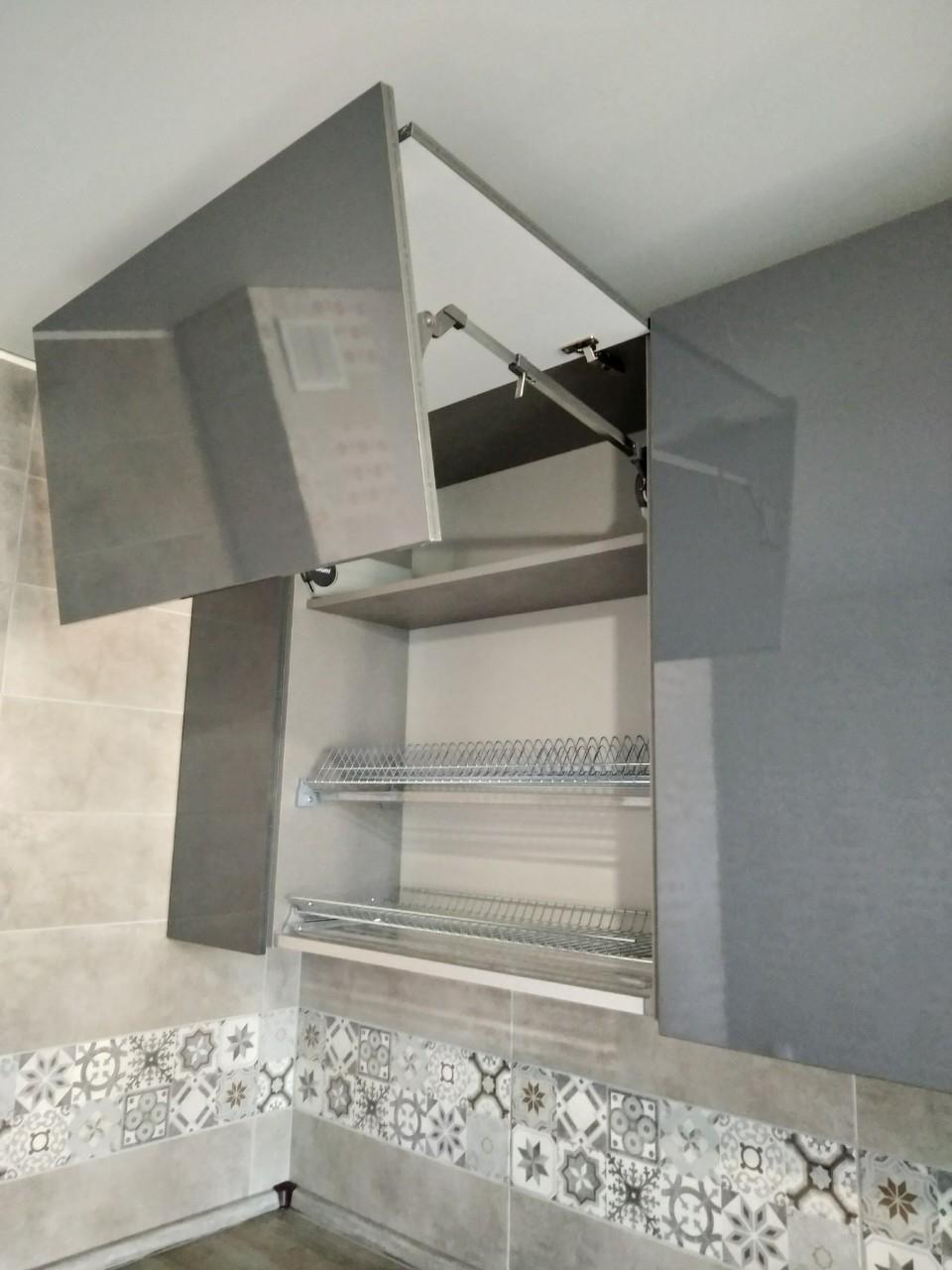 Встроенная кухня-Кухня МДФ в ПВХ «Модель 538»-фото7