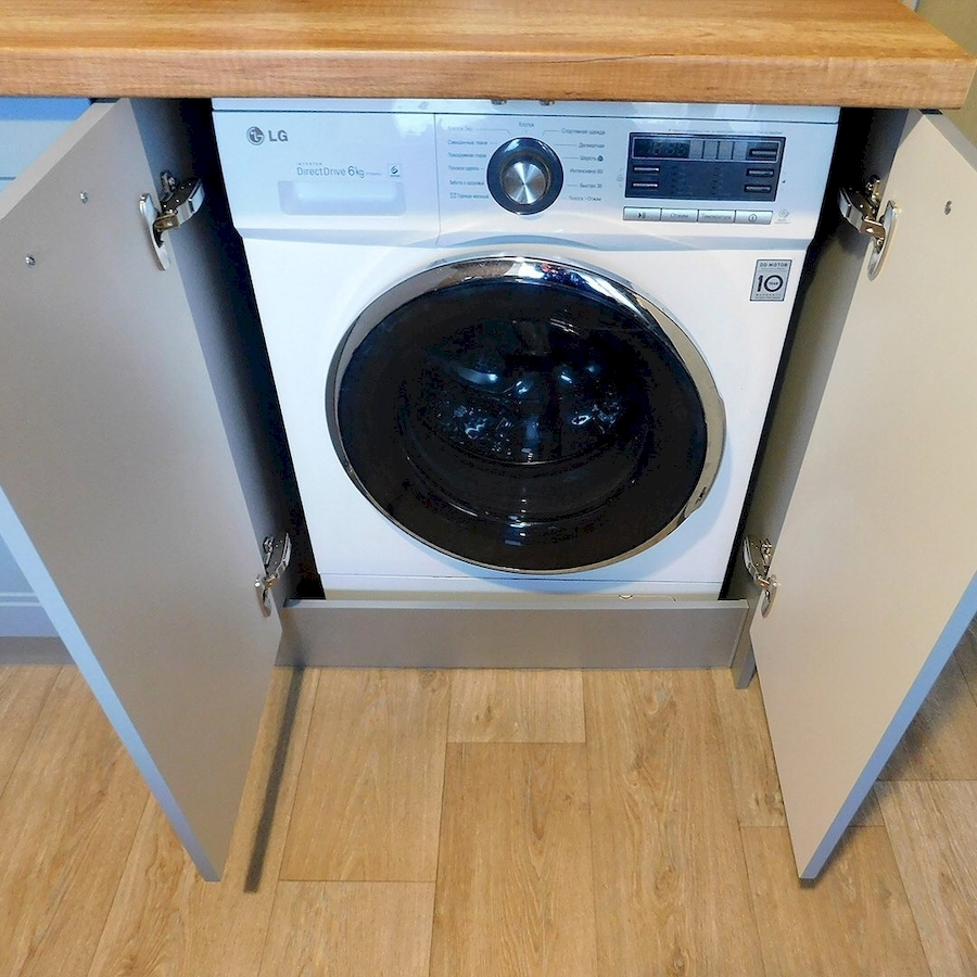 Классические кухни-Кухня МДФ в эмали «Модель 590»-фото5