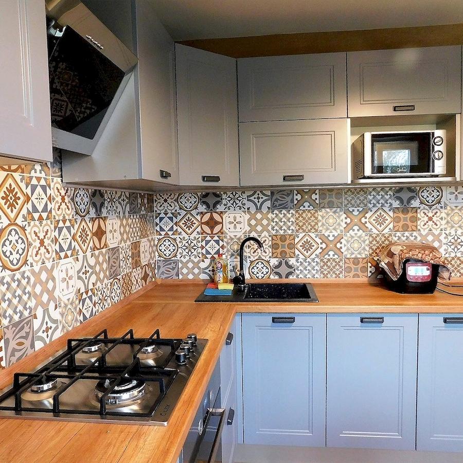 Классические кухни-Кухня МДФ в эмали «Модель 590»-фото2