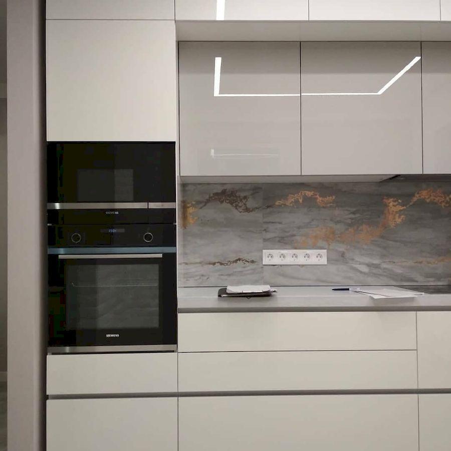 Акриловые кухни-Кухня из акрила «Модель 646»-фото7