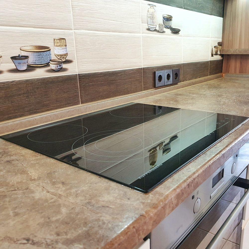 Белый кухонный гарнитур-Кухня МДФ в эмали «Модель 537»-фото8