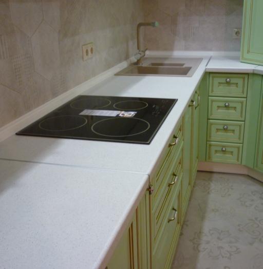 Встроенная кухня-Кухня МДФ в ПВХ «Модель 326»-фото8