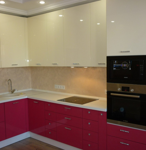 -Кухня МДФ в эмали «Модель 252»-фото28