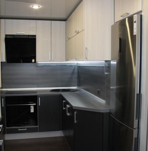 -Кухня МДФ в ПВХ «Модель 92»-фото1