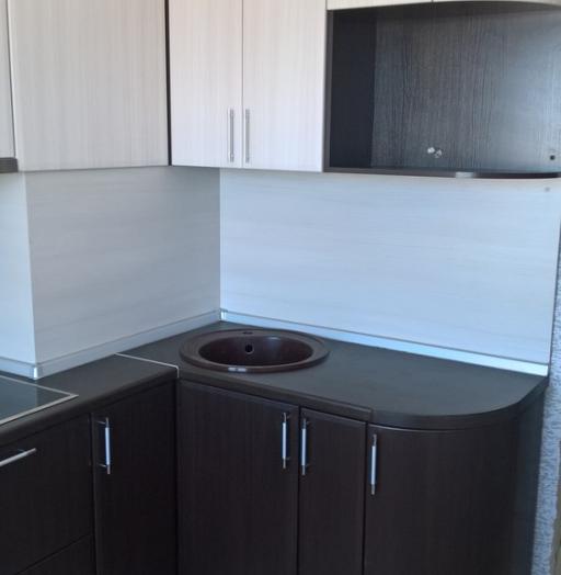 Встроенная кухня-Кухня МДФ в ПВХ «Модель 367»-фото5