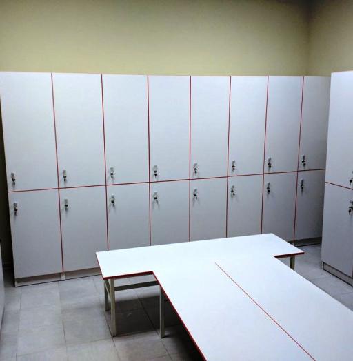 Торговая мебель-Шкафчики для раздевалки «Модель 156»-фото3
